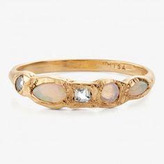 Misa Jewelry Opal Mermaid Ring