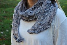 Ravelry: Cloudy Garden Shawl pattern by Heather Anderson