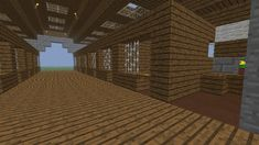 Minecraft Horse Stable