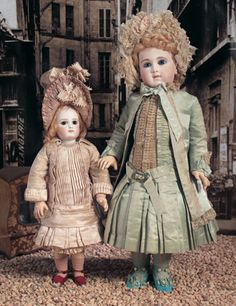 My Life as a Doll: 40 Outstanding French Bisque Bebe E.J.A. by Jumeau in Original Costume