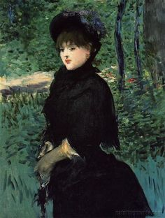 The Promenade  Edouard Manet