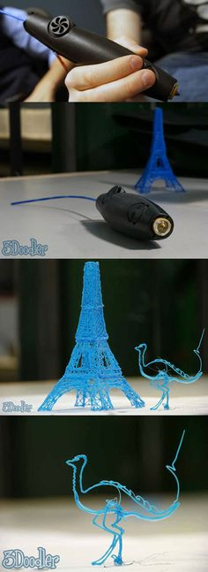 3Doodler, the World's First 3D Printing Pen