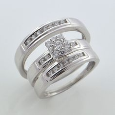 30 Best Cheap Wedding Ring Sets White Gold White gold Ring and Gold
