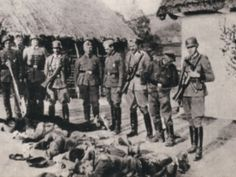 13 December 1943 - German soldiers carry out the Massacre of Kalavryta in southern Greece - Nearly 700 civilians were killed during the reprisals of Operation Kalavryta. Twenty-eight communities—towns, villages, monasteries and settlements—were destroyed. In Kalavryta itself about 1,000 houses were looted and burned and more than 2,000 livestock seized by the Germans.