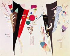 Titre de l'image : Vassily Kandinsky - Mutual harmony (Accord réciproque)