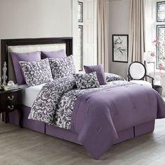 Luxury Home Zamora 8 Piece Comforter Set & Reviews | Wayfair