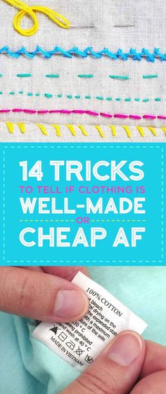 14 Expert Ways To Tell If Clothes Are Well-Made Or Super Cheap