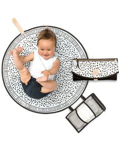 The Roundabout, possibly the coolest baby change mat around