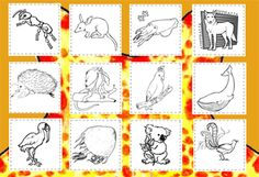 Our coloring pages double as classroom quilt projects. A classroom quilt is a great way to encourage children to work together on a project. Each quilt square is inches and when arranged together make a Alphabet Coloring Pages, Animal Coloring Pages, Colouring Pages, Coloring Sheets, Australia Animals, Australia Day, Spring Activities, Craft Activities, Little Passports