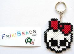 Monster High keychain hama beads by Friki Beads