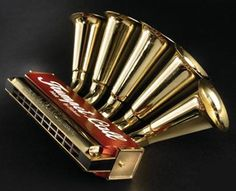Trumpet Harmonica #music #instruments #harmonica http://www.pinterest.com/TheHitman14/music-instruments/