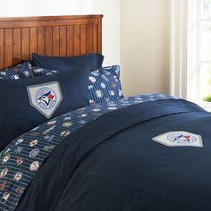 Toronto Blue Jays Duvet Cover & Pillowcase | PBteen