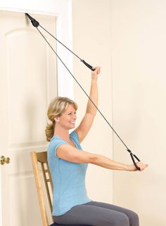 Over-The-Door Exerciser. Portable pulley exerciser makes physical therapy or exercising easy to do. #drleonards #overthedoorexerciser #exerciser  sc 1 st  Pinterest & Exercise Pulley Set from EGAN Medical is an effective means of ...