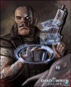 Imgur: The most awesome images on the Internet. Cyberpunk Rpg, Cyberpunk Character, Space Fantasy, Sci Fi Fantasy, Shadowrun Game, Shadowrun Online, Sci Fi Rpg, Samurai, Tecno