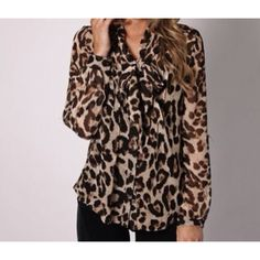 Want this leopard shirt!