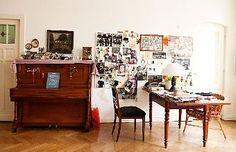 Otto Sander and Monika Hansen at Home in Berlin