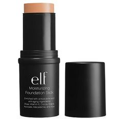 Contouring made easy with our Moisturizing Foundation Sticks - available in 8 shades! (just $6) #elfcosmetics #playbeautifully #contouring