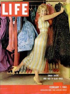 Dinah Shore cover of LIFE Magazine 1960