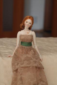 1/12 scale dollhouse doll Ball Jointed Doll BJD Porcelain Art Doll Natasha Yaskova
