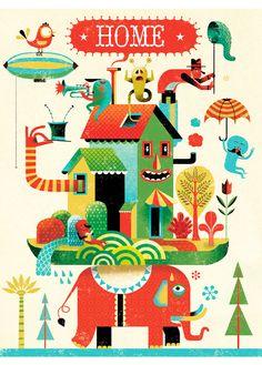 Home by Keraval Gwen
