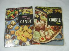 Vintage COOKBOOK Candy & COOKIES 500 recipes! by LavenderGardenCottag, $12.00