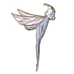 The Moth Pixie is back, just in time for warmer weather! Redone in a beautiful soft pink and light frost . Geek Jewelry, Jewelry Accessories, Jewellery, Patch Design, Pin And Patches, Hard Enamel Pin, Cute Pins, Inspirational Gifts, Pin Collection