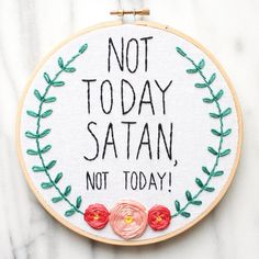 """""""Not today, Satan"""" becomes a refrain Genevieve says frequently as she's healing."""