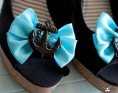 Sailor Anchor Shoe Clips