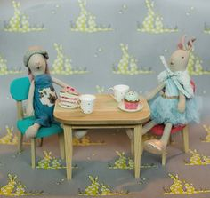 Easter is on its way and these miniature Maileg bunnies are  sitting down for tea and crumpets to celebrate! Charming darling treasures for you and your little ones #thechildrenshourslc #maileg #mailegworld #easterbunnies || The Children's Hour Bookstore & Boutique || Clothing  Gifts  Shoes || 898 South 900 East || Salt Lake City Utah || 801.359.4150 || childrenshourbookstore.com