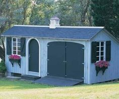 Outdoor Structure 20 x 12 Yard Storage Building Gable Shed Plans