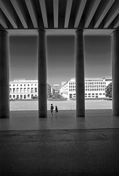 Roma EUR Roman Holiday by Cloudshape, via Flickr.