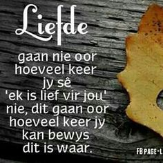 Waar God is Liefde Amen Family Qoutes, Afrikaanse Quotes, Special Quotes, Fb Page, Always Love You, Quotes For Him, In My Feelings, 3 D, Verses