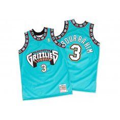 Shareef Abdur-Rahim 1996-97 Authentic Jersey Vancouver Grizzlies