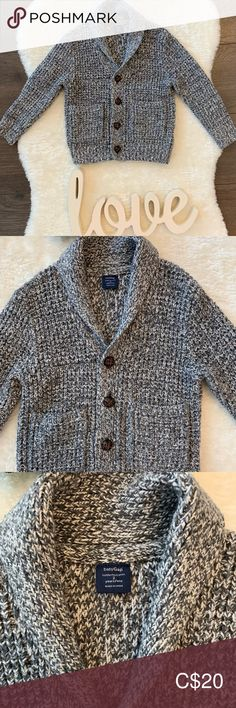 Kid's Gap Cardigan Perfect layering piece for fall and winter Soft and comfortable Excellent condition GAP Shirts & Tops Sweaters Kids Shirts, Layering, Gap, Gray Color, Men Sweater, Kids Shop, Best Deals, Children, Winter