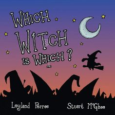 Which Witch is Which?  - a fun rhyming activity book for children aged 4-8