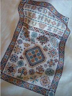 Double Dutch - Cross Stitch Pattern