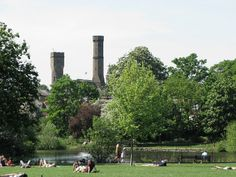 Clissold park in north London