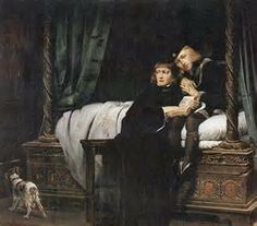 In 1502 a courtier, Sir James Tyrrell, allegedly confessed that he had killed the children (The Princes In The Tower). Some chroniclers claimed Tyrrell had two 'agents' do the wicked deed for him. But we await proof that Richard ordered their murder...