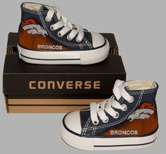Hey, I found this really awesome Etsy listing at https://www.etsy.com/listing/214573104/hand-painted-converse-hi-kids-denver