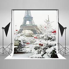 Kate 5x6.5ft Backdrops for Children Eiffel Tower Photogra...