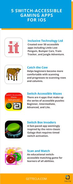 5 switch-accessible gaming apps for Apple Switch Control users in the App Store