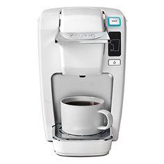 Keurig K15 Coffee Maker, White (New Packaging) Keurig