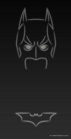Batman (Light Superheroes)   By: Whiterave, via blog.thaeger.com
