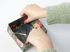 DIY: How to Fold a Paper Box