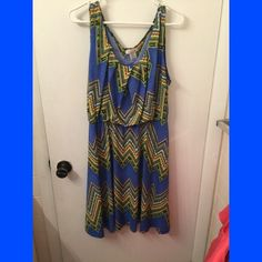Aztec dress worn once ⭐️⭐️⭐️⭐️No trades or returns. I do however like to bundle. If you don't like the price please feel free to make an offer and we can go from there. Thanks for shopping and have a great day!⭐️⭐️⭐️⭐️⭐️⭐️⭐️⭐️⭐️⭐️ Dresses