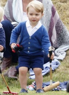 Catherine, Duchess of Cambridge and Prince George attend the Gigaset Charity Polo Match at Beaufort Polo Club on June 2015 in Tetbury, England. Baby Prince, Prince And Princess, Princess Kate, Princesa Charlotte, Prince George Alexander Louis, Prince William And Catherine, Prince Georges, Duchess Kate, Duchess Of Cambridge