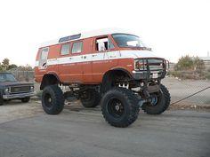 Dodge 4x4 Van.... um yes please!