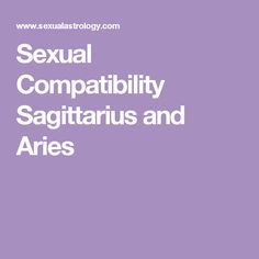 Aries Compatibility Explained Easy Chart