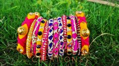 bangles by https://www.facebook.com/Ninos-creations-123853704344831/