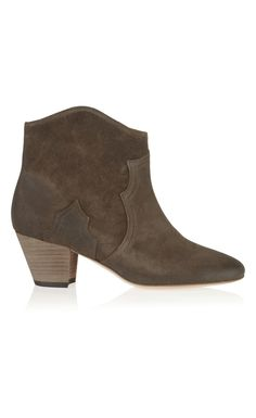 Isabel Marant The Dicker Suede Ankle Boots Bronze - Isabel Marant Christmsa Deals ($650->$195, 70%off) AVAILABLE NOW! #christmasgift #christmas #christmasdeals